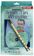 Absolute Beginners Irish Tin Whistle DVD Pack