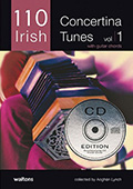 110 Irish Concertina Tunes Vol.1 - Aogan Lynch