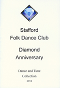 Stafford folk dance club Diamond Anniversary