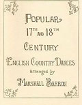 Popular 17th And 18th English Country Dances