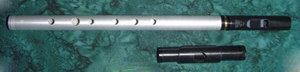 Dixon Aluminum High D Whistle / Fife Duo