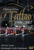 The Edinburgh Military Tattoo 1998-2002 (5DVD box set)