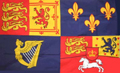 Royal Banner 1714-1801 House of Hanover Flag