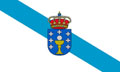 Galicia Flag 5ft x 3ft