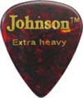 Johnson Guitar pick, Ex Heavy