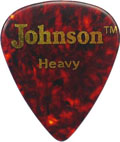 Johnson Guitar pick, Heavy