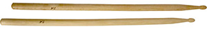 Drum Sticks in Maple Wood - 7A