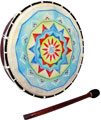 Painted Frame Drum