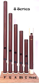Susato Garland -V- Series Tabor-Pipe in -D- (2 Piece)
