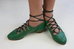 James Senior Scottish Jig (Jingle) - Traditional Dark Green