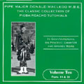 Classic Collection of Piobaireachd Tutorials Vol.10 -  -  2CD