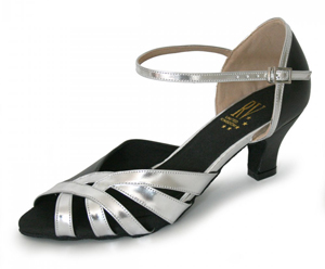 Ladies Wide Fit Ballroom Shoe - Roch Valley
