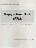 Bagpipe Music Writer Gold - Robert MacNeil