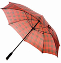 Red Tartan Golf Umbrella
