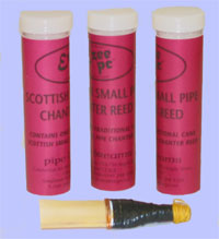 Small pipe reed - Key A or D